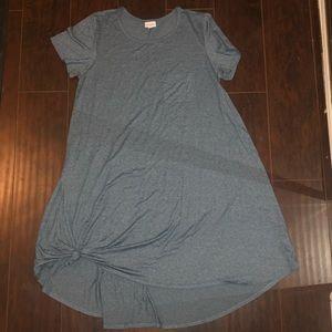 Perfect condition XL Lularoe blue dress!!
